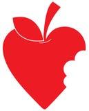 Love Heart Apple royalty free illustration