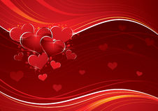 Love heart background Royalty Free Stock Photos