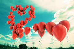 love heart background Royalty Free Stock Photography