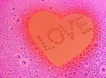 Love heart background Stock Photos