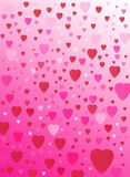 Love heart background Stock Photography