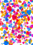 Love heart background Stock Images