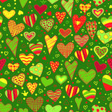 Love. Heart background Stock Photo
