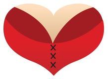 Free Love Heart Boobs Stock Photography - 30379262