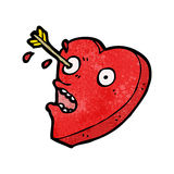 Love heart cartoon character Royalty Free Stock Photo