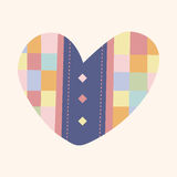 Love heart cartoon elements vector,eps Royalty Free Stock Photos