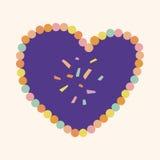 Love heart cartoon elements vector,eps Royalty Free Stock Photo