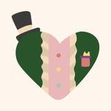 Love heart cartoon elements vector,eps Stock Photo