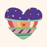 Love heart cartoon elements vector,eps Stock Photography