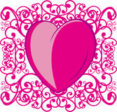 Love, heart, decoration Stock Images