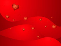 Love heart flow Royalty Free Stock Images