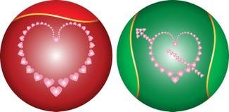 Love, Heart Frame Border Design Royalty Free Stock Photo