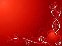 Love heart invite Stock Photo