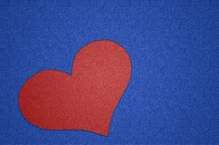 Love, Heart, Jeans, Patch Royalty Free Stock Photos