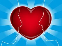 Love heart and lovers | Vector.ai 10 Stock Images