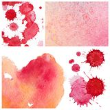 Love heart paint watercolour Royalty Free Stock Photography