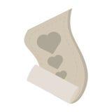 Love heart paper design decorative Stock Photo