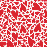 Love heart pattern Stock Photos