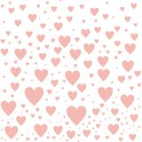 LOVE HEART PATTERN ABSTRACT BACKGROUND stock illustration