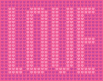 Love Heart Pattern Royalty Free Stock Image