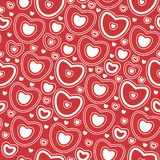 Love heart pattern Royalty Free Stock Photography