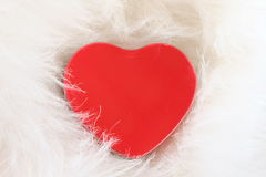 The love heart. Valentine card. Royalty Free Stock Photography