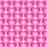 Love Heart Seamless Background tile Royalty Free Stock Images