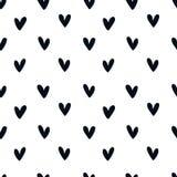 Love heart seamless pattern Stock Photo