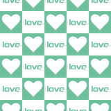Love heart seamless pattern Royalty Free Stock Photos