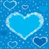 Love heart seamless texture Stock Photography