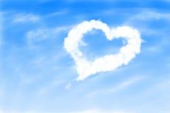 Love heart in the sky Stock Photos