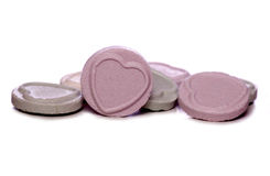 Love heart sweets Royalty Free Stock Photos