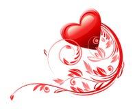 Love heart symbol Stock Photography