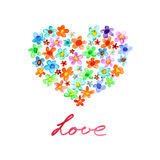 Love - Heart symbol stock illustration