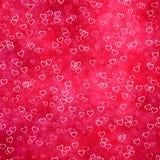Love heart symbols background Royalty Free Stock Photography