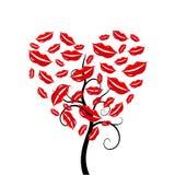 Love heart Tree. Stock Photo