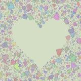 Love heart Valentine shape Stock Photos