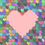 Love heart Valentine shape Stock Image