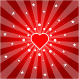 Love heart (vector) Royalty Free Stock Photos