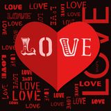 Love and heart, Stock Images