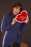 Love Heart Woman Royalty Free Stock Photo