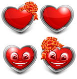 Love Hearts Royalty Free Stock Images