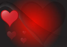 Love Hearts Background Royalty Free Stock Photo