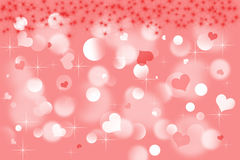 Love hearts background royalty free stock photography