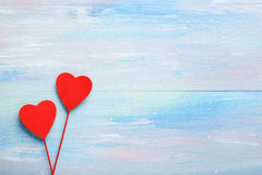 Love hearts Stock Photos