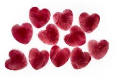 Love hearts Royalty Free Stock Photos