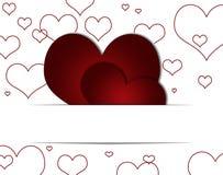 Love, hearts Stock Image