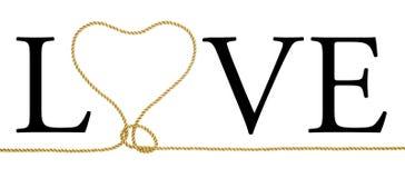 Love - Heat-Loop. Love-loop. Ironical poster. Joke Royalty Free Stock Photos