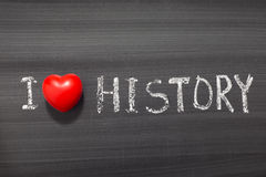 Love history Royalty Free Stock Images