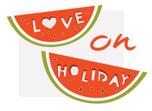Love on holiday Royalty Free Stock Photography